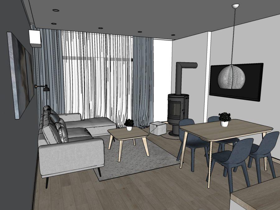 Nidos Namai - Apartamentai - Vizualizacija